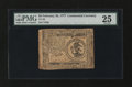 Colonial Notes:Continental Congress Issues, Continental Currency February 26, 1777 $3 PMG Very Fine 25....