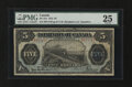 Canadian Currency: , DC-21e $5 1912.. ...