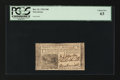 Colonial Notes:New Jersey, New Jersey December 31, 1763 18d PCGS Choice New 63....