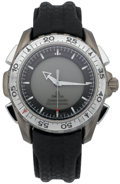 Explorers:Space Exploration, Omega Speedmaster Professional X-33 Watch Directly from the Personal Collection of Astronaut John Young, Signed....