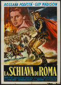 "Movie Posters:Adventure, Slave of Rome (Medallion, 1963). Italian 2 - Folio (39"" X 55""). Adventure.. ..."