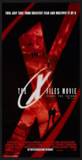 """Movie Posters:Science Fiction, The X Files (20th Century Fox, 1998). Mini-Posters(12) (13"""" X 25.5"""") Advance Science Fiction.. ... (Total: 12 Items)"""