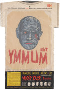 Memorabilia:Movie-Related, Mani-Yack The Mummy Iron-on Transfer in Original Package(Kaumagraph/Universal Pictures, 1964)....