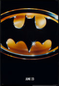 "Movie Posters:Action, Batman (Warner Brothers, 1989). One Sheet (27"" X 41""). Action.. ..."