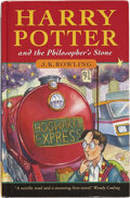 Books:First Editions, J. K. Rowling. Harry Potter and the Philosopher's Stone.[London]: Bloomsbury, [1997]....
