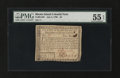 Colonial Notes:Rhode Island, Rhode Island July 2, 1780 $4 PMG About Uncirculated 55 EPQ....