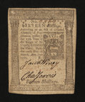 Colonial Notes:Pennsylvania, Pennsylvania March 20, 1773 16s Extremely Fine-About New....