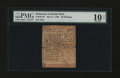 Colonial Notes:Delaware, Delaware May 31, 1760 20s PMG Very Good 10 Net....