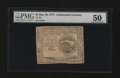 Colonial Notes:Continental Congress Issues, Continental Currency May 20, 1777 $4 PMG About Uncirculated 50....