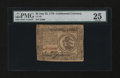 Colonial Notes:Continental Congress Issues, Continental Currency July 22, 1776 $3 PMG Very Fine 25....