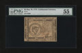Colonial Notes:Continental Congress Issues, Continental Currency May 10, 1775 $8 PMG About Uncirculated 55....
