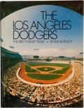 Autographs:Others, Los Angeles Dodgers Signed Book. ...