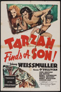 "Movie Posters:Adventure, Tarzan Finds a Son (MGM, R-Late 1940s). International One Sheet(27"" X 41""). Adventure.. ..."