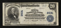 National Bank Notes:Kentucky, Harrodsburg, KY - $20 1902 Plain Back Fr. 659 The Mercer NB Ch. #2531. ...