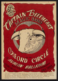 """Movie Posters:Rock and Roll, Captain Beefheart and his Magic Band """"Red Bull"""" Avalon ConcertPoster FD-13 (Family Dog, 1966). Window Card (14"""" X 20""""). Roc..."""