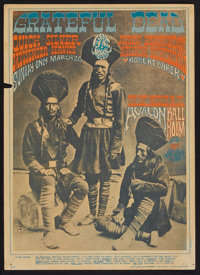 "The Grateful Dead Concert Poster (Family Dog Productions, 1967). Window Card (13.5"" X 21.5""). Rock and Roll..."