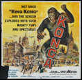 "Movie Posters:Science Fiction, Konga (American International, 1961). Six Sheet (81"" X 81"").Science Fiction.. ..."