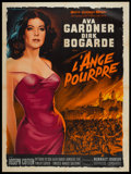 "Movie Posters:War, The Angel Wore Red (MGM, 1960). Italian 4 - Folio (55"" X 78"").War.. ..."