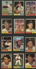 Baseball Cards:Lots, 1961 Topps Baseball Collection (477). ...