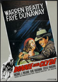 """Movie Posters:Crime, Bonnie and Clyde (Warner Brothers-Seven Arts, 1967). German A1 (23""""X 33""""). Crime.. ..."""