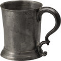 Military & Patriotic:Civil War, Pewter Mug Inscribed to Captain Alexander Grayson, 8th Virginia Infantry, Killed at Gettysburg During Pickett's Charge, July 3...