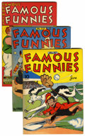 Golden Age (1938-1955):Miscellaneous, Famous Funnies File Copies Group (Eastern Color, 1943-51) Condition: Average FN/VF.... (Total: 12 Comic Books)