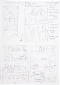 Original Comic Art:Miscellaneous, Michael Dubisch The Boxcar Children Page Preliminary LayoutSketch Original Art, Group of 58 (Magic Wa... (Total: 58 Items)