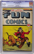 Golden Age (1938-1955):Miscellaneous, More Fun Comics #37 (DC, 1938) CGC VG- 3.5 Cream to off-white pages....