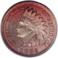 Proof Indian Cents, 1886 1C Type Two PR64 Red PCGS....