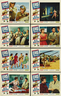 "G.I. Blues (Paramount, 1960). Lobby Card Set of 8 (11"" X 14""). ... (Total: 8 Items)"