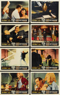 "Movie Posters:James Bond, Goldfinger (United Artists, 1964). Lobby Card Set of 8 (11"" X 14"").... (Total: 8 Items)"