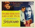 "Movie Posters:Hitchcock, Spellbound (United Artists, 1945). Title Lobby Card (11"" X 14"")...."