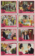 "Movie Posters:Comedy, My Fair Lady (Warner Brothers, 1964). Lobby Card Set of 8 (11"" X14""). ... (Total: 8 Items)"