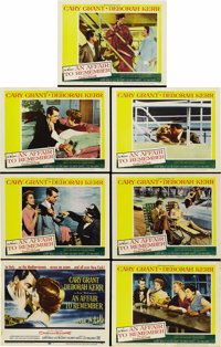 "An Affair to Remember (20th Century Fox, 1957). Title Lobby Card and (6) Lobby Cards (11"" X 14"").... (Total: 7..."