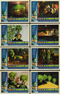 "Invasion of the Saucer-Men (American International, 1957). Lobby Card Set of 8 (11"" X 14""). ... (Total: 8 Item..."