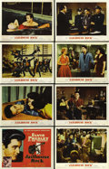 "Movie Posters:Elvis Presley, Jailhouse Rock (MGM, 1957). Lobby Card Set of 8 (11"" X 14""). ...(Total: 8 Items)"