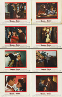 """East of Eden (Warner Brothers, 1955). Lobby Card Set of 8 (11"""" X 14""""). ... (Total: 8 Items)"""