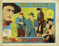 "Movie Posters:Drama, The Unknown (MGM, 1927). Lobby Card (11"" X 14""). ..."