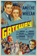 "Movie Posters:Adventure, Gateway (20th Century Fox, 1938). Autographed One Sheet (27"" X41""). ..."
