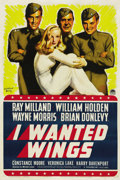 "Movie Posters:War, I Wanted Wings (Paramount, 1941). One Sheet (27"" X 41""). ..."