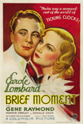 "Movie Posters:Drama, Brief Moment (Columbia, 1933). One Sheet (27"" X 41""). ..."