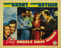 "Movie Posters:Drama, Only Angels Have Wings (Columbia, 1939). Lobby Cards (2) (11"" X 14""). ... (Total: 2 Items)"
