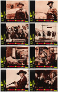 """Movie Posters:Western, For a Few Dollars More (United Artists, 1967). Lobby Card Set of 8(11"""" X 14""""). ... (Total: 8 Items)"""