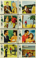 "Movie Posters:James Bond, Dr. No (United Artists, 1962). Lobby Card Set of 8 (11"" X 14""). ...(Total: 8 Items)"