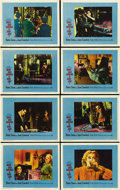 """Movie Posters:Thriller, What Ever Happened to Baby Jane? (Warner Brothers-Seven Arts, 1962). Lobby Card Set of 8 (11"""" X 14""""). ... (Total: 8 Items)"""