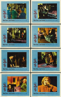 "What Ever Happened to Baby Jane? (Warner Brothers-Seven Arts, 1962). Lobby Card Set of 8 (11"" X 14""). ... (Tot..."