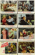 """Movie Posters:Science Fiction, The Time Machine (MGM, 1960). Lobby Card Set of 8 (11"""" X 14""""). ...(Total: 8 Items)"""