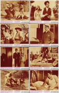 "Movie Posters:Crime, Bonnie and Clyde (Warner Brothers, 1967). Lobby Card Set of 8 (11""X 14""). ... (Total: 8 Items)"