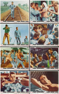 "Movie Posters:Drama, Cool Hand Luke (Warner Brothers, 1967). Lobby Card Set of 8 (11"" X14""). ... (Total: 8 Items)"