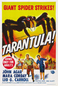 "Movie Posters:Science Fiction, Tarantula (Universal, 1955). Australian One Sheet (27"" X 41""). ..."